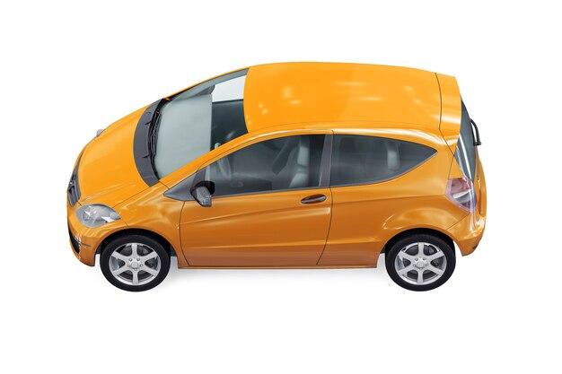 Mockup di piccola city car 2010