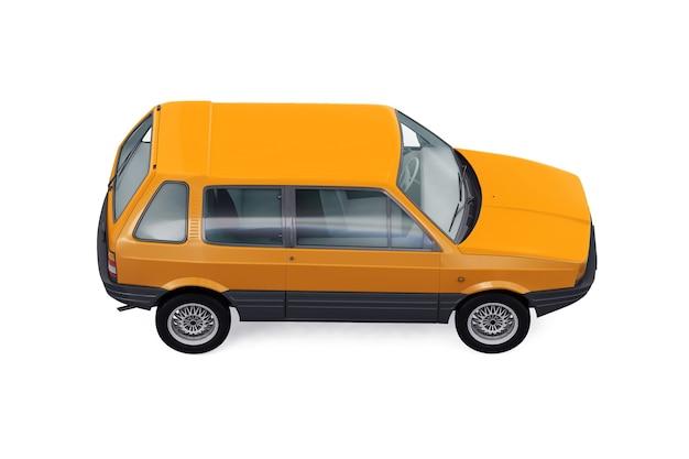 Mockup di piccola auto da città