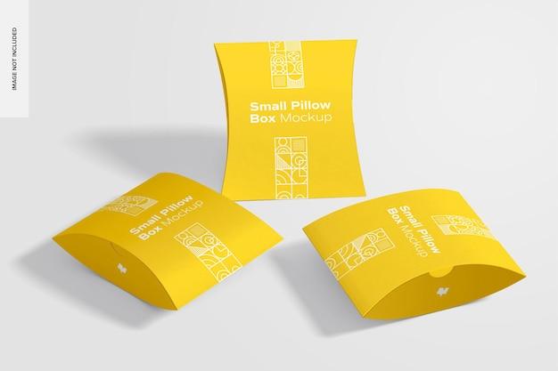 Мокап набора ящиков для подушек