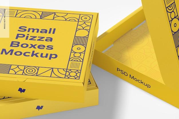 작은 피자 상자 모형, 클로즈업