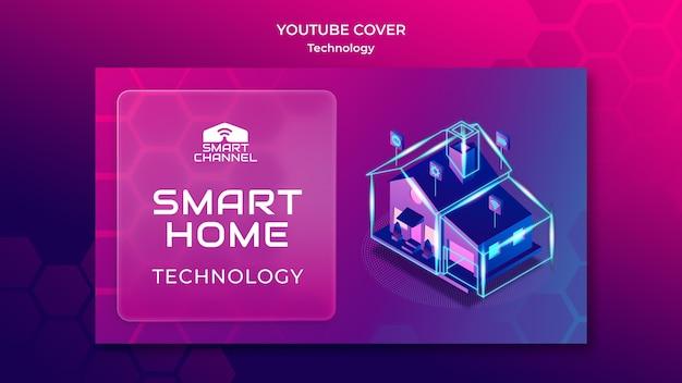 Copertina youtube casa intelligente