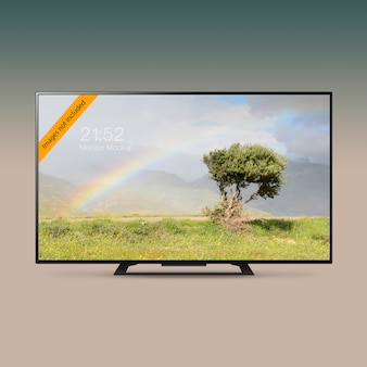 Смарт led ultra hd tv макет