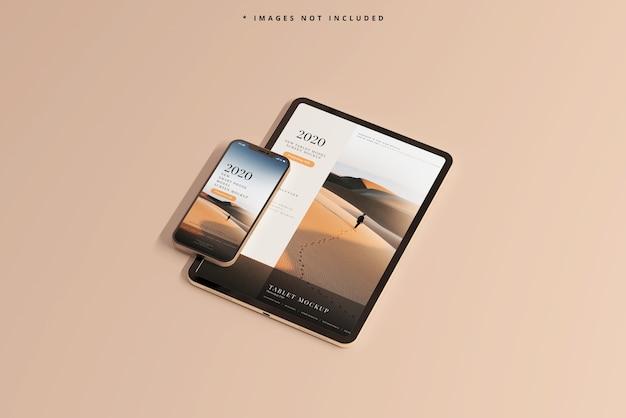 Смартфон и планшетный макет