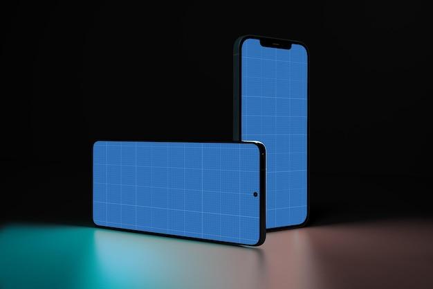 Smart phones in dark