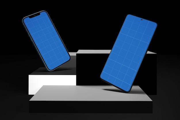 Smart phones on levels