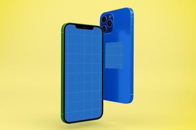 Smart phones mockup