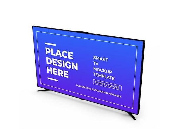 스마트 tv 3d 모형 디자인