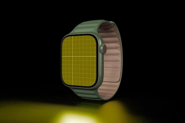 Smart watch in dark