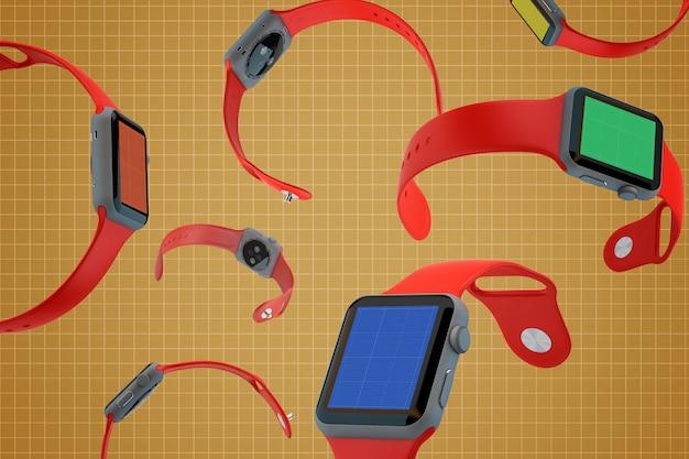 Smart watches mockup