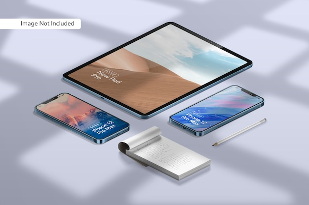 Смартфон 12 pro max mockup