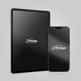 스마트폰 및 태블릿 모형