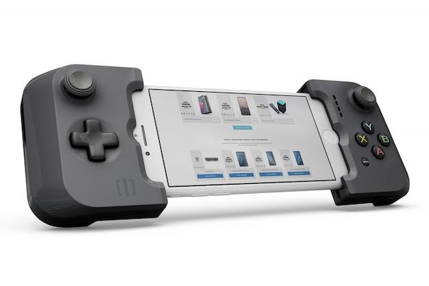 Smartphone controller mockup