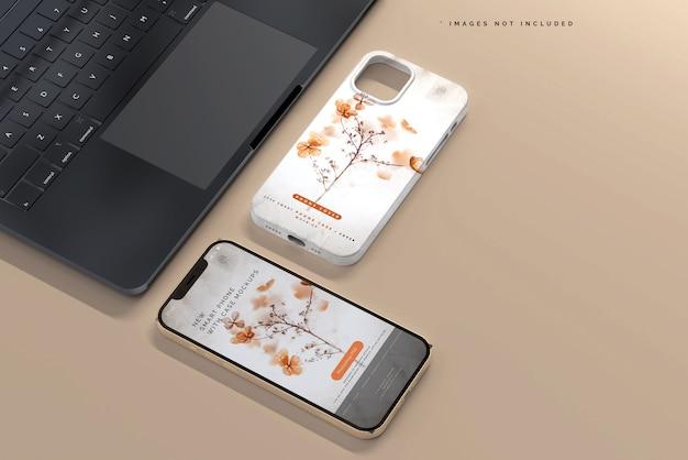 Cover per smartphone o mockup di custodia
