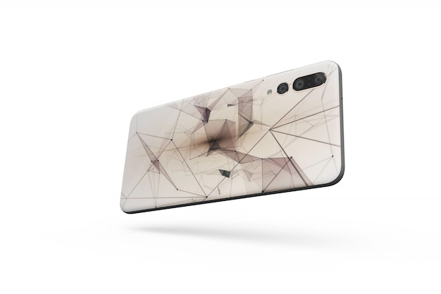 Smartphone cover mockup