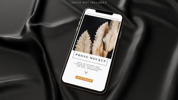 스마트 폰 디지털 장치 화면 모형 디자인