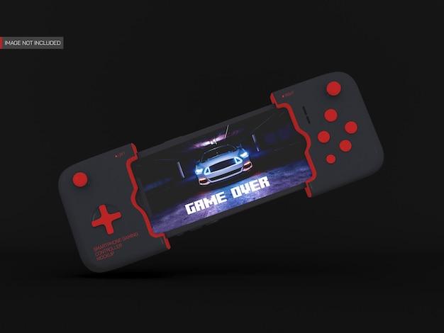 Smartphone gaming controller mockup