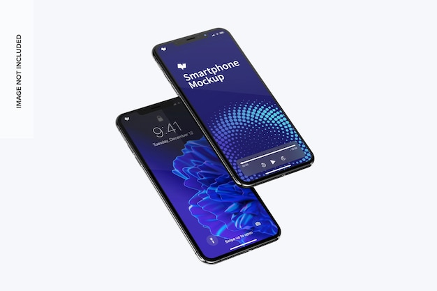 スマートフォン最大モックアップ