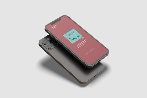 スマートフォンマックスプロモックアップ