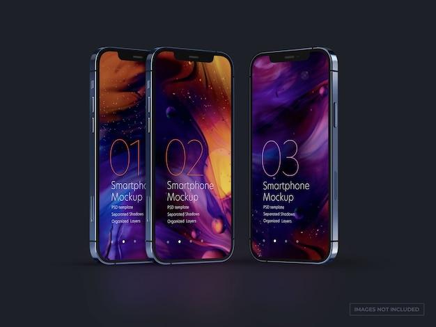 Uiデザイン用のスマートフォンモックアップ