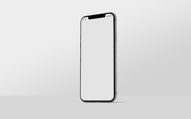Smartphone mockup side view