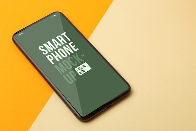 Smartphone mockup template