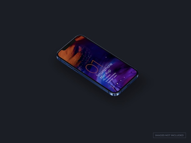 Smartphone mockup for ui designs Premium Psd