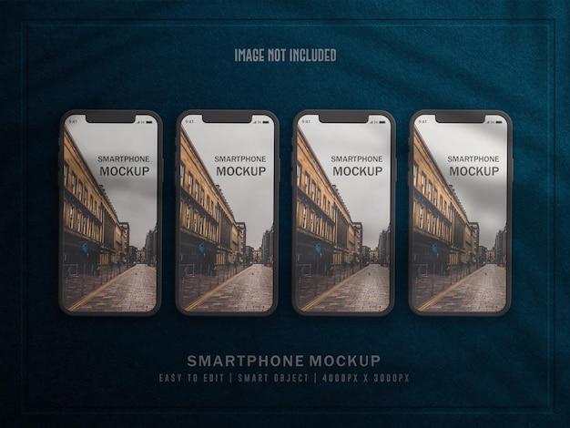 스마트폰 또는 멀티미디어 장치 모형