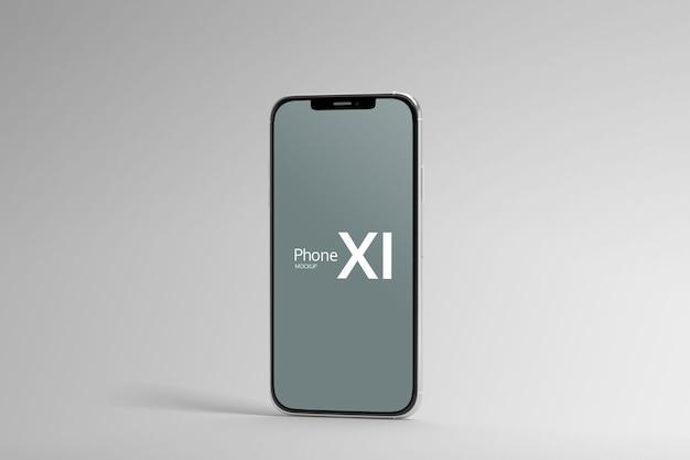 Изолированный макет экрана смартфона