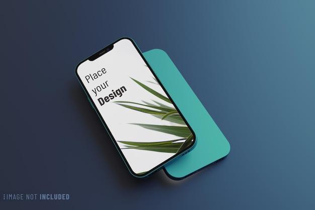 Макет экрана смартфона