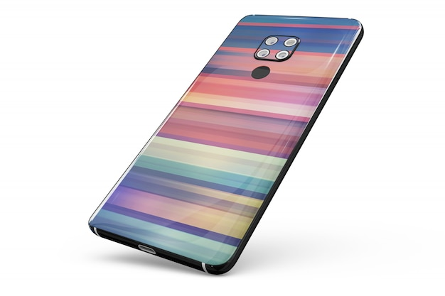 Smartphone skin isolated