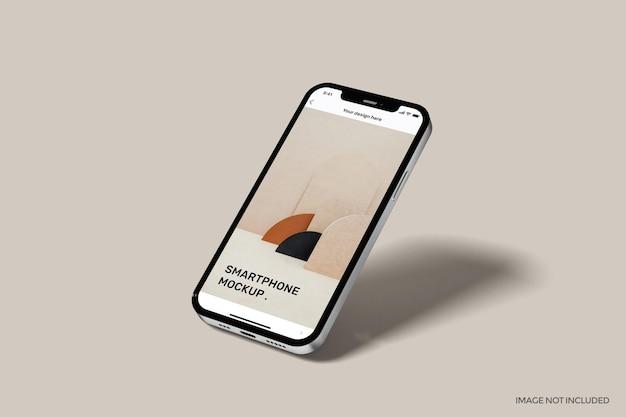 Смартфон с полноэкранным макетом