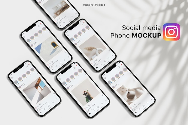 Смартфон сми социальный макет