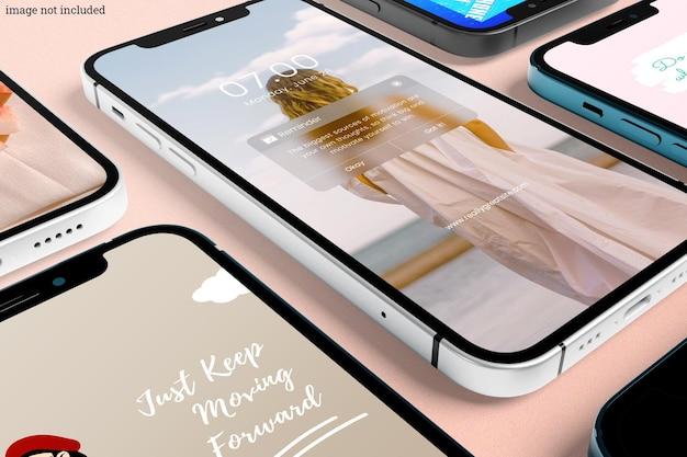 Макет смартфона