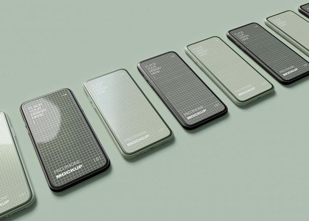 Смартфоны мокап