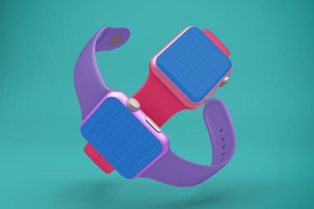Smartwatch 전체 화면 모형