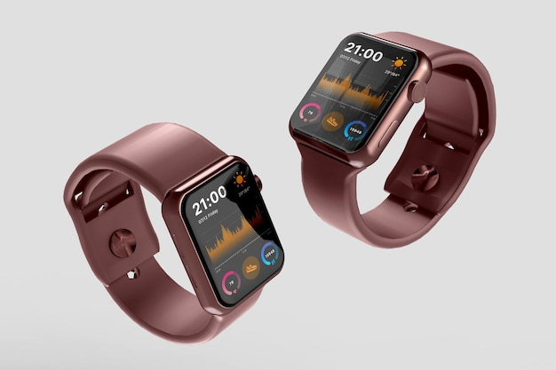 Smartwatch 이랑 디자인 절연