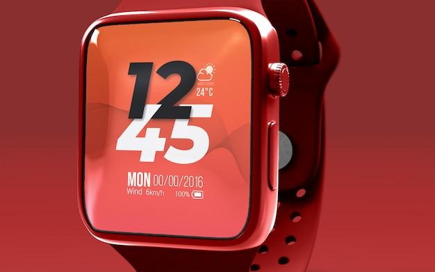 Smartwatch mockup premium psd
