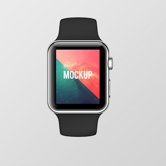 Smartwatchモックアップデザイン