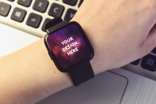 Smartwatch дисплей макет