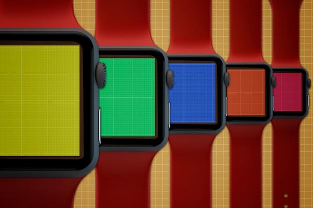 Smartwatches mockup