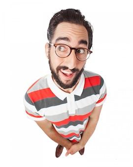 メガネで男を笑顔