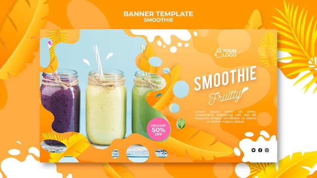 Smoothie banner concept