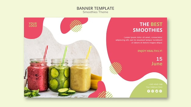 Smoothies theme banner style