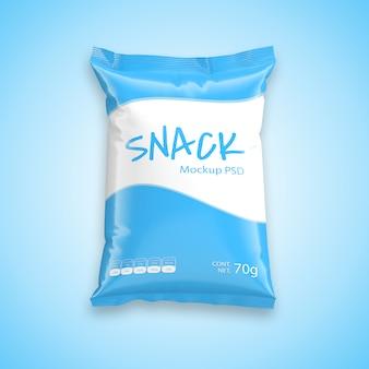 Snack bag mock-up