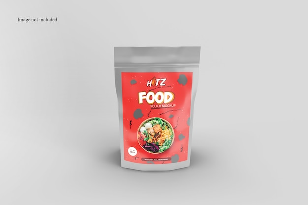 Snack packaging mockup