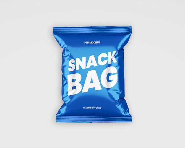 Snack packaging mockup