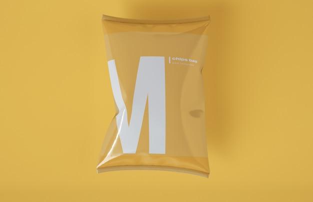 Закусочная упаковка макет