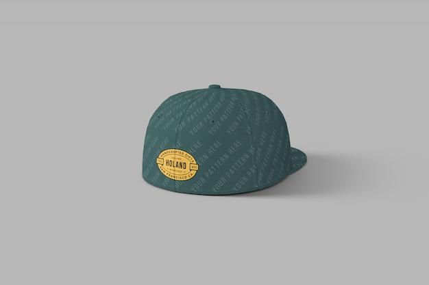 Snapback full cap mockup