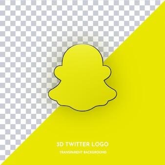 Snapchat 3d 스타일 아이콘