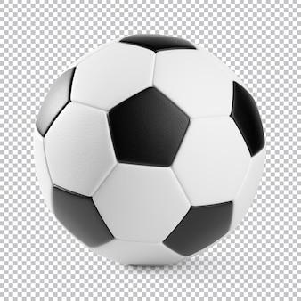 Футбольный мяч изолированные 3d-рендеринга
